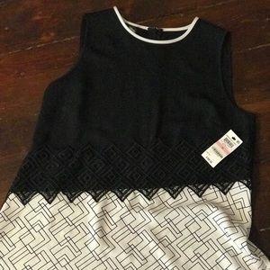 Alfani Urban Botanic Midi Dress NWT Size 10